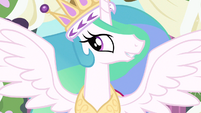 Princess Celestia reunite with my sister S3E13