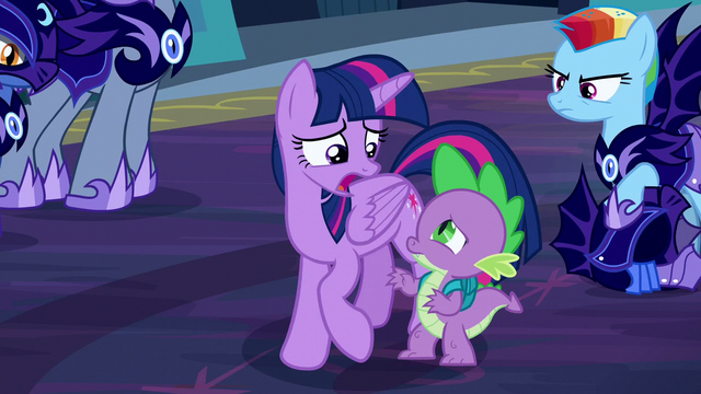 """File:Twilight """"We have no choice, Spike"""" S5E26.png"""