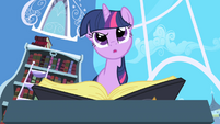 "Twilight perplexed by ""See Mare in the Moon"" entry S1E01"