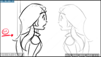 EG3 animatic - Sunset looks at her reflection