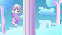 Filly sees Twilight flying fast S5E26