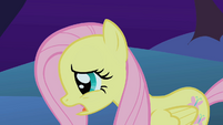 Fluttershy worried because the CMC are missing S1E17