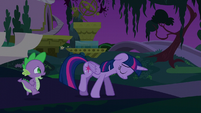 Spike catching up with Twilight S5E12