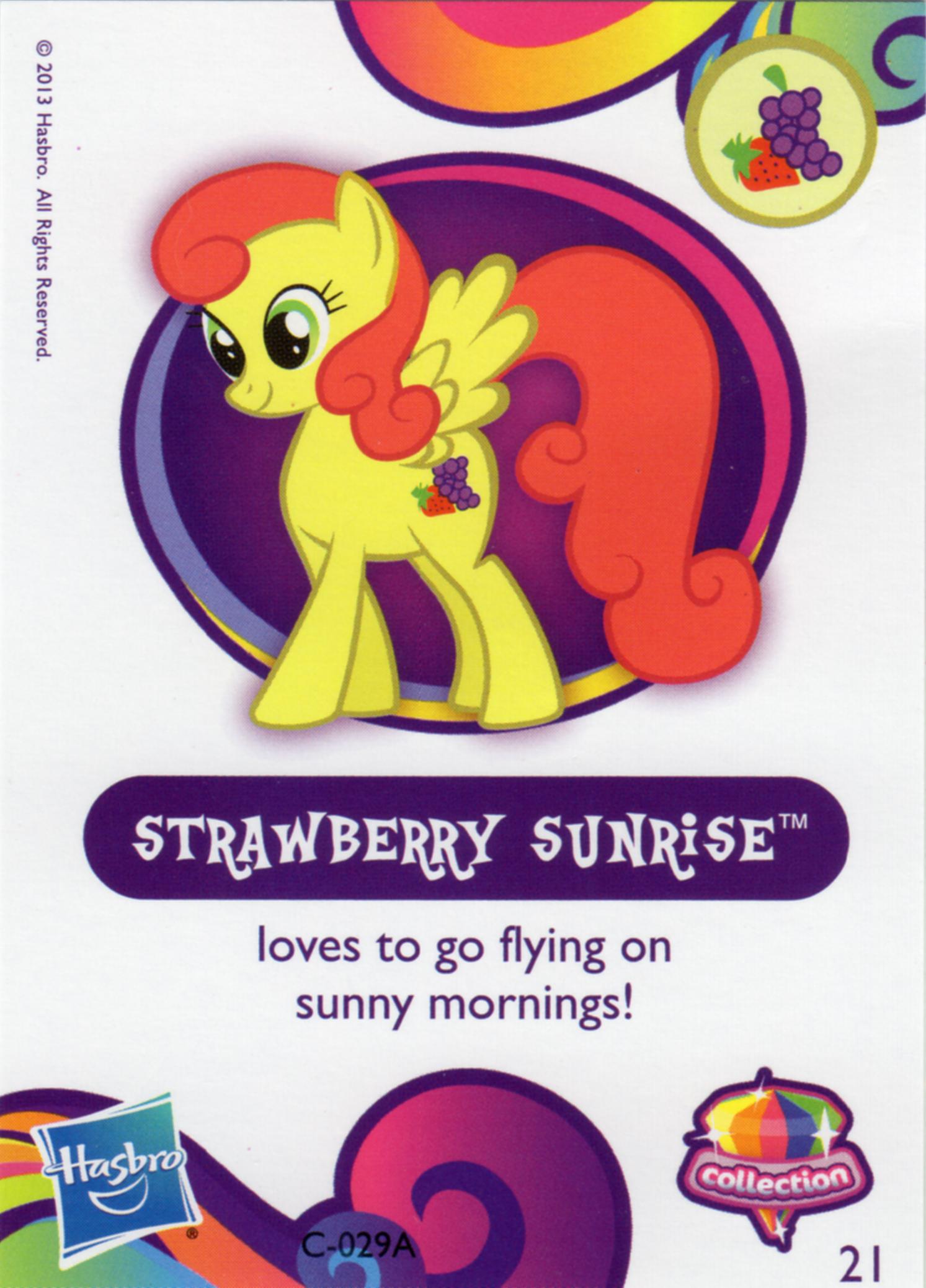 Výsledek obrázku pro mlp strawberry sunrise