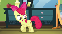 Apple Bloom with ice cream cutie mark S5E4