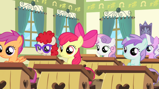 File:Fillies of Cheerilee's class wide shot S4E05.png