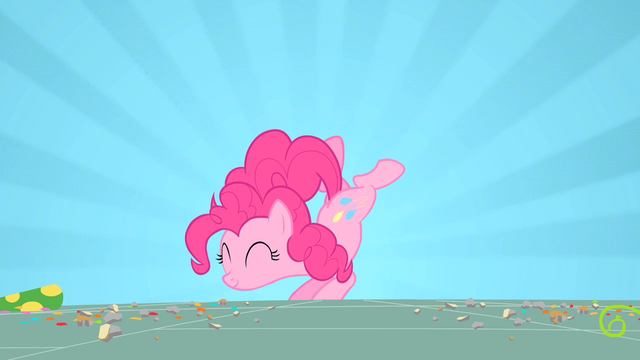File:Pinkie Pie dancing at Gummy's party S1E25.png