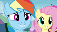 Rainbow Dash biting her lip S4E22