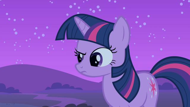 File:Twilight raises an eyebrow S1E24.png