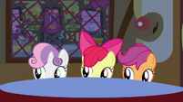 CMC sneaking from a table S3E4