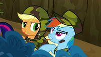 Rainbow Dash being obnoxious S2E21