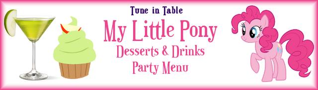 File:FANMADE Pinkie Pie menu header.png