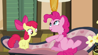 Pinkie Pie getting technical S4E09