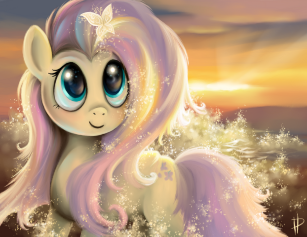 File:FANMADE Shining fluttershy by rom art.png