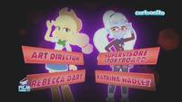 Friendship Games Rebecca Dart and Katrina Hadley credit - Italian