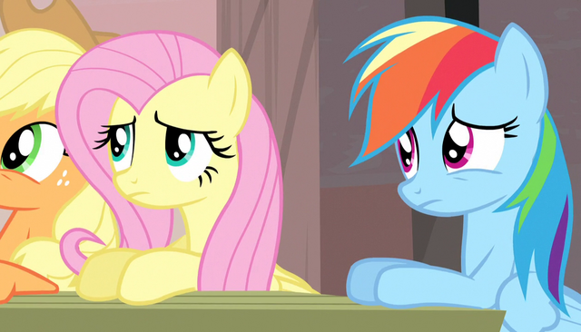 File:Fluttershy and Rainbow Dash confused S5E1.png
