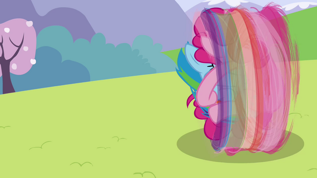 File:Pinkie Pie and Rainbow rolling S3E7.png