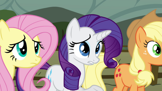 "File:Rarity ""thought she'd be a bit more excited"" S4E18.png"