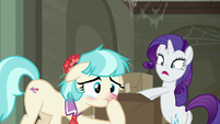 "Rarity saying ""gesundheit!"" to Coco S6E9"