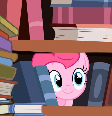 File:FANMADE Pinkie Pie in bookshelf SE04 EP09.png