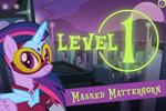 Power Ponies Go level 1 intro screen