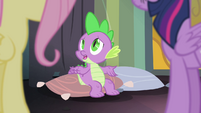 "Spike ""didn't know they were literally enchanted"" S4E06"