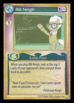 Bill Neigh demo card MLP CCG Gen Con 2013