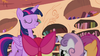 "Twilight tells the CMC to ""prove it!"" S4E15"