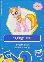 Wave 7 Cherry Pie collector card