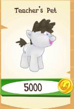 Teacher's Pet store unlocked MLP mobile game