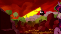 Tirek blasts some forests S5E26