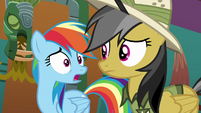 "Rainbow Dash ""how are we gonna get out"" S6E13"