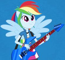 Rainbow Dash anthro ID EG2