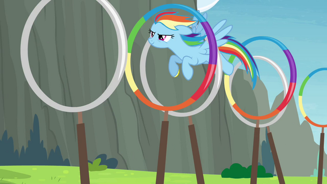 File:Rainbow going through the rings S4E10.png