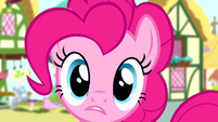 """Pinkie Pie """"thanks... I guess?"""" S4E12"""