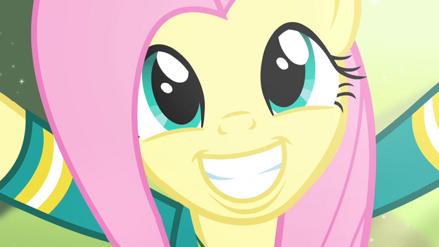 File:Fluttershy biggest smile S4E14.png