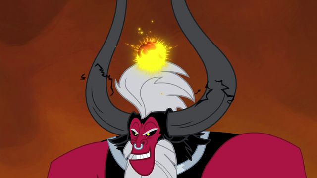 File:Tirek about to take away all the alicorn magic S4E26.png