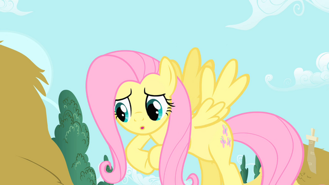 File:Fluttershy rubbing her hooves S1E17.png