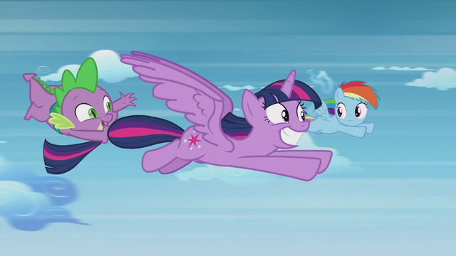 File:Spike waving to Rainbow Dash S5E25.png