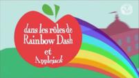 Equestria Girls 'as Applejack and Rainbow Dash' - French
