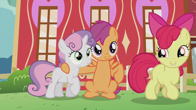 "File:Apple Bloom ""what do you say, Crusaders?"" S5E18.png"