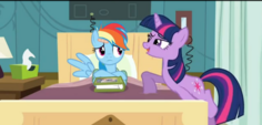 Dash scared of Twilight's evil face S02E16