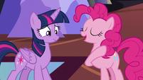 """Pinkie """"to beat it!"""" S5E11"""