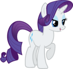 Canterlot Castle Rarity 4
