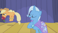 Applejack humiliated by Trixie S01E06
