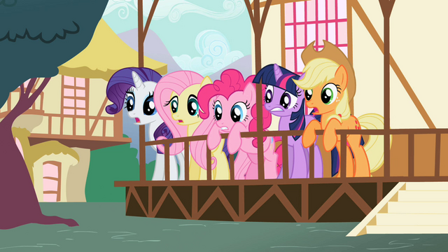 File:Ponies looking surprised S2E7.png