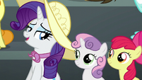 "Rarity ""don't worry, Fluttershy"" S6E7"