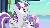 "Twilight Velvet ""or are we gonna spend our entire visit just calling her ""the baby""?"" S6E2"