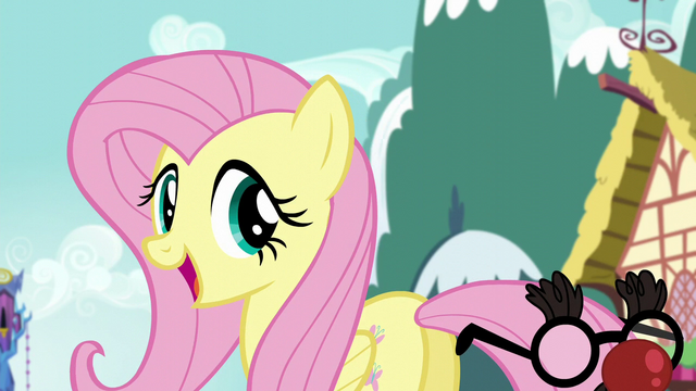 File:Fluttershy Big smile S5E19.png