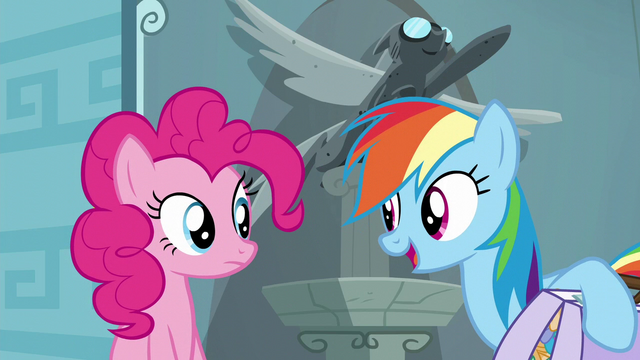 "File:Rainbow Dash ""I just have to train for this show"" S6E7.png"